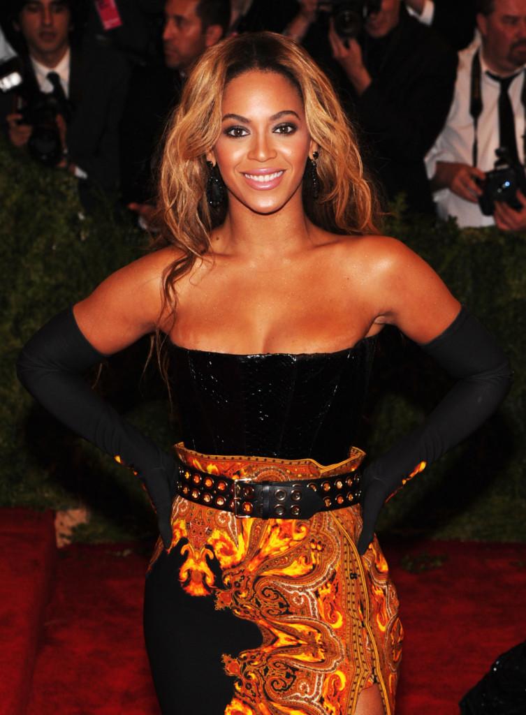 Beyonce al Costume Institute Gala per
