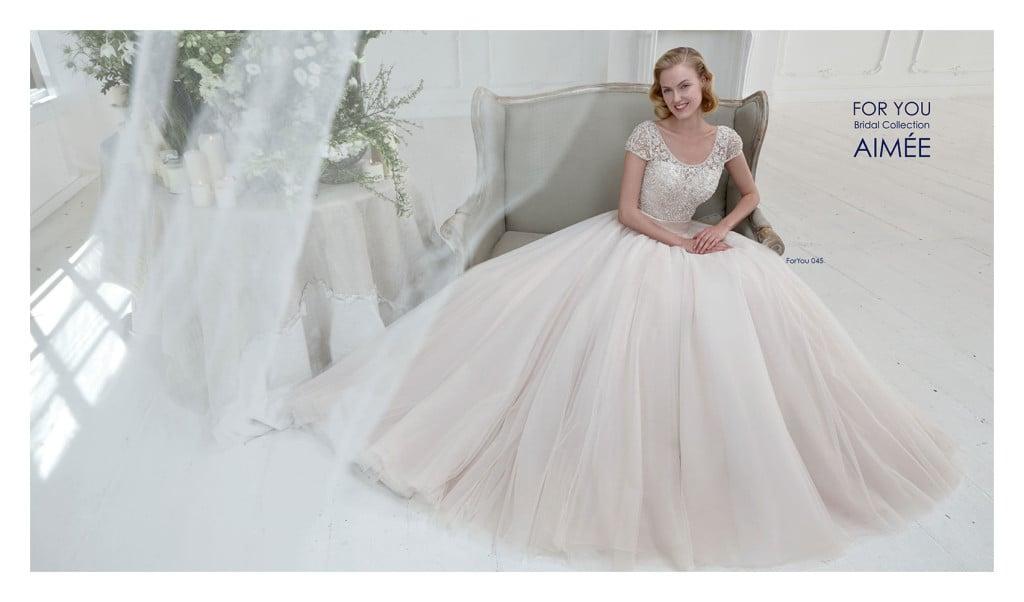 abito da sposa collezione For you