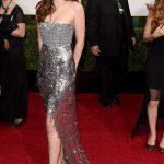 Dakota Johnson sul red carpet dei Golden Globes 2015