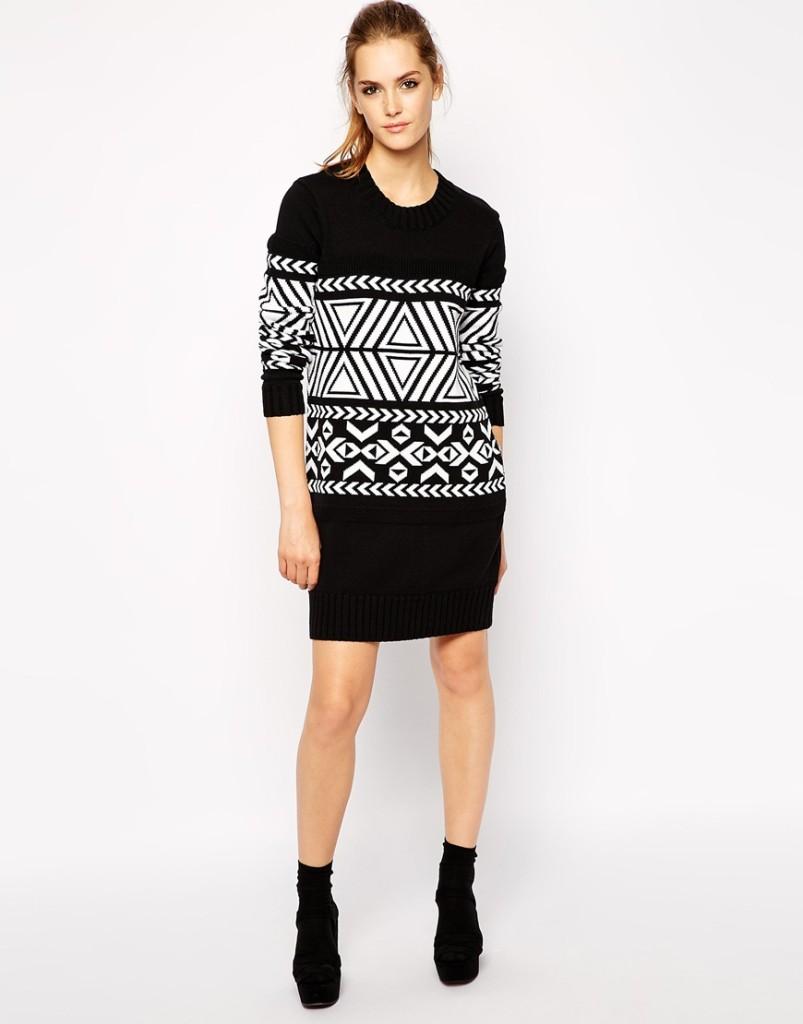 Maxi maglia, adatta da indossare con leggins o come vestito_Asos