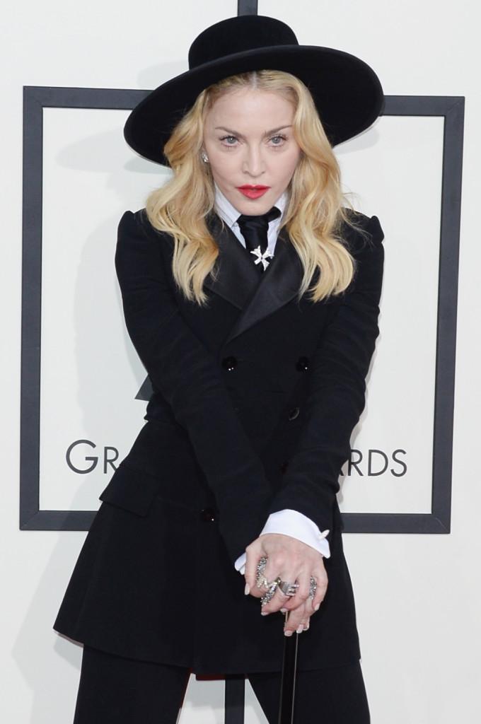 Madonna sul red carpet ai GRAMMY Awards 2014