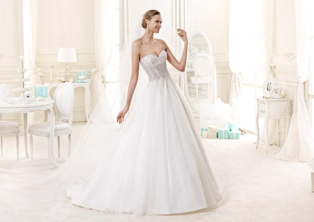 Collezione Nicole Spose 2015 bianco