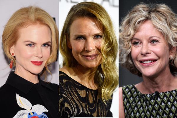 Nicole Kidman, Renée Zellweger e Meg Ryan: tre star che si sono fatte prendere la mano dalla chirurgia estetica