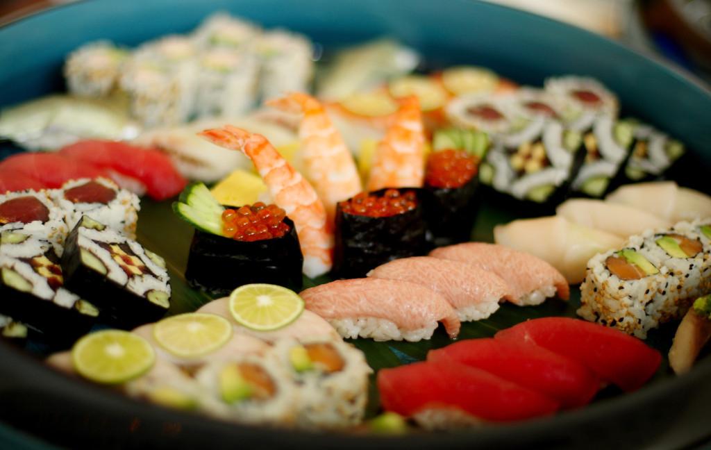 Sushi, una delle filosofie culinarie orientali, a base di pesce, più gettonate dell'ultimo secolo