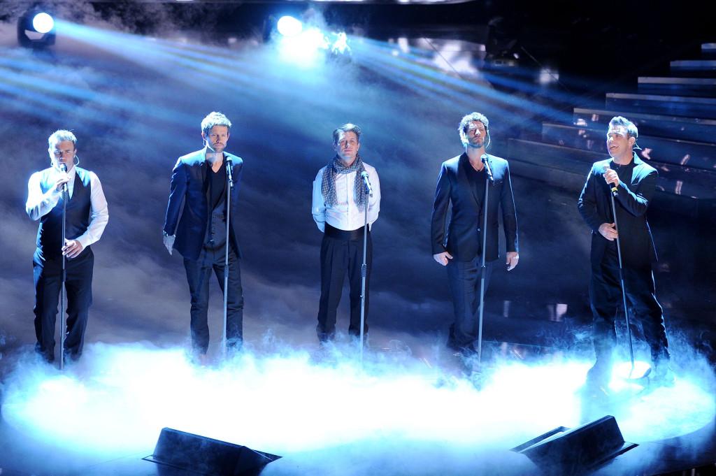 I Take That a Sanremo nel 2011