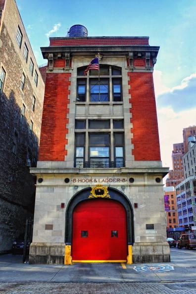 La caserma dei pompieri, sede dei primi Ghostbusters