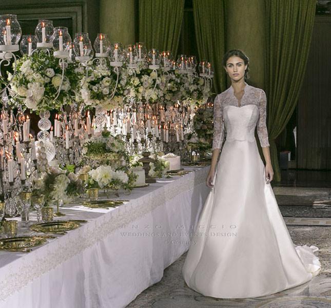Modello Maria Leopoldina di Enzo Miccio bridal couture