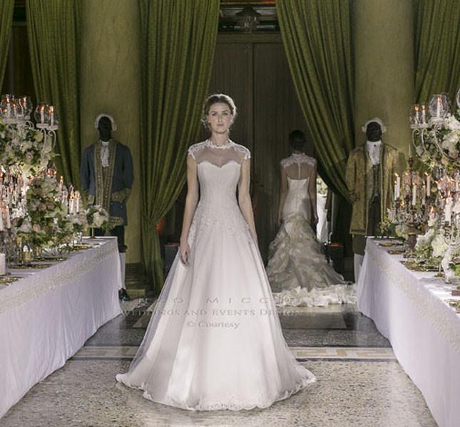 Modello Maria Luce, per vere principesse di Enzo Miccio