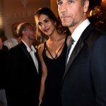 La bellissima Rocio in compagnia del suo compagno, l'attore italiano Raul Bova