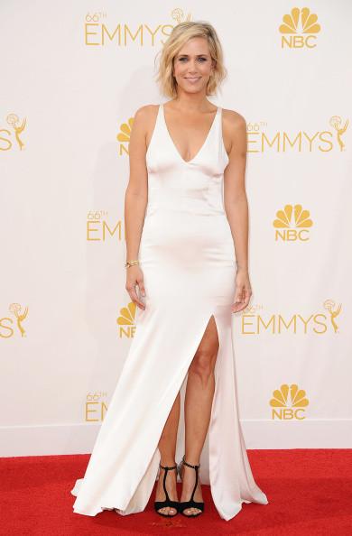 Kristen Wiig sul red carpet degli Emmy 2014