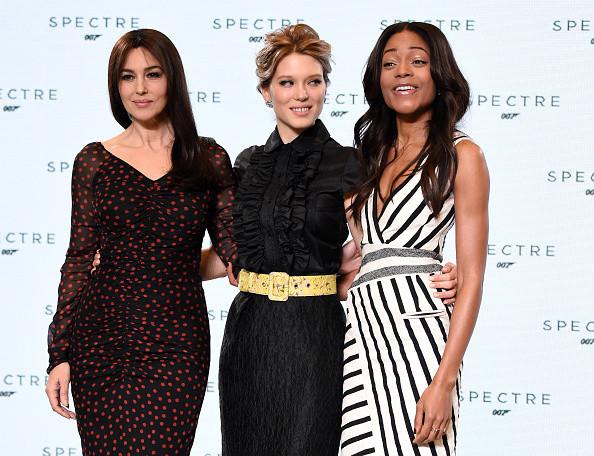 Monica Bellucci, Lea Seydoux e Naomie Harris.