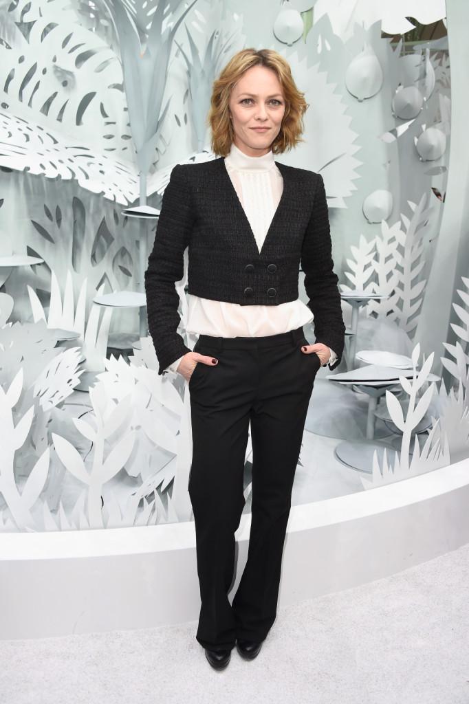 Vanessa Paradis bellissima ed elegante da Chanel