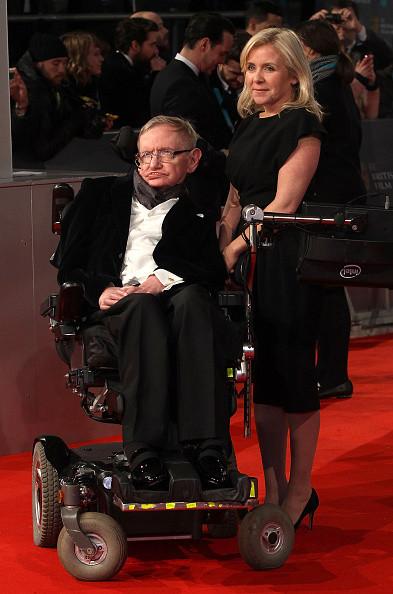 Il fisico Stephen Hawking e la moglie Lucy