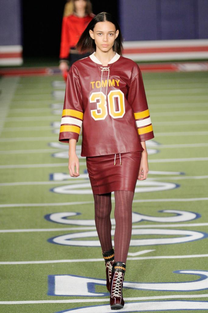 Il giocatore di football più fashion che c'è!