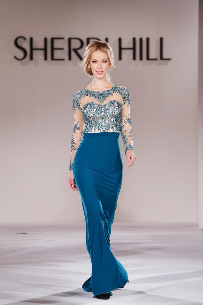Colori accesi e intensi per la bridal collection di Sherri Hill