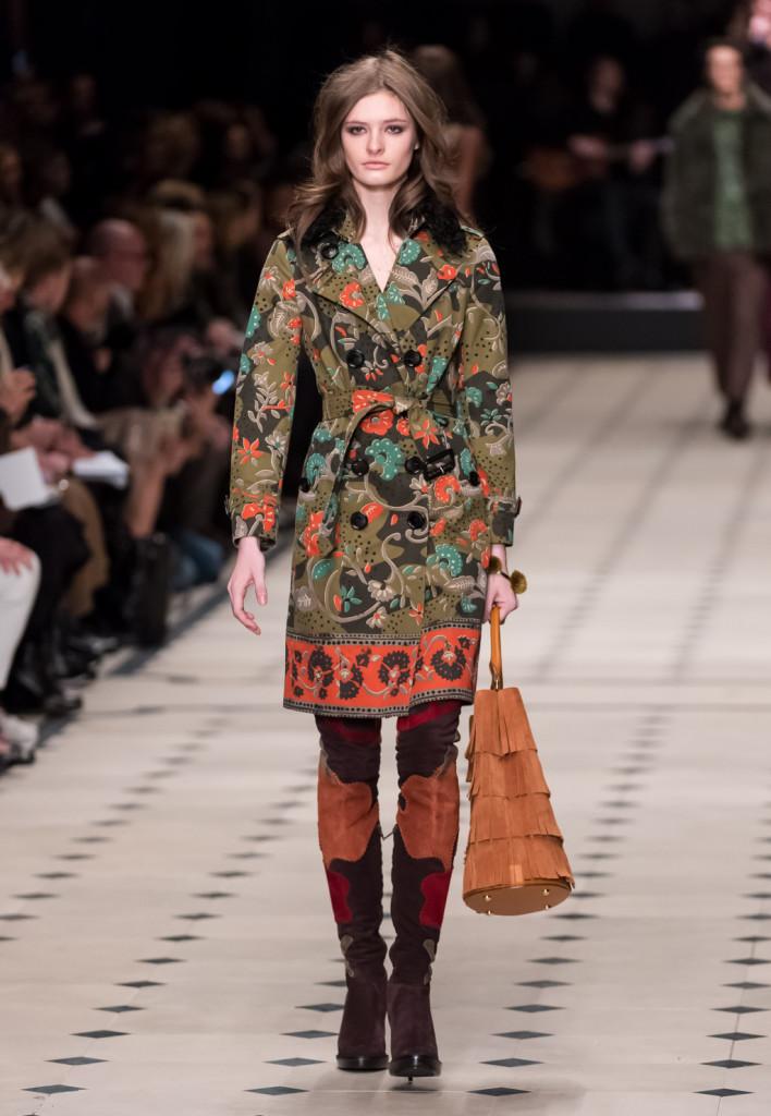 Stile bohèmienne e handmade per Burberry Prorsum