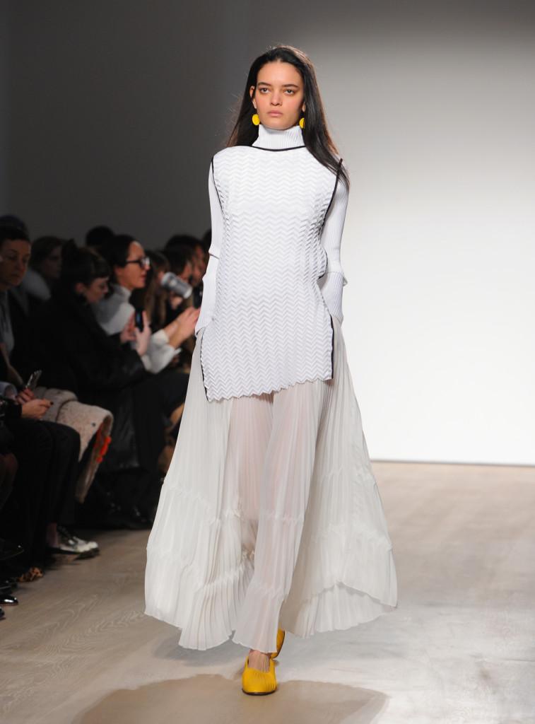 Barbara Casasola all white