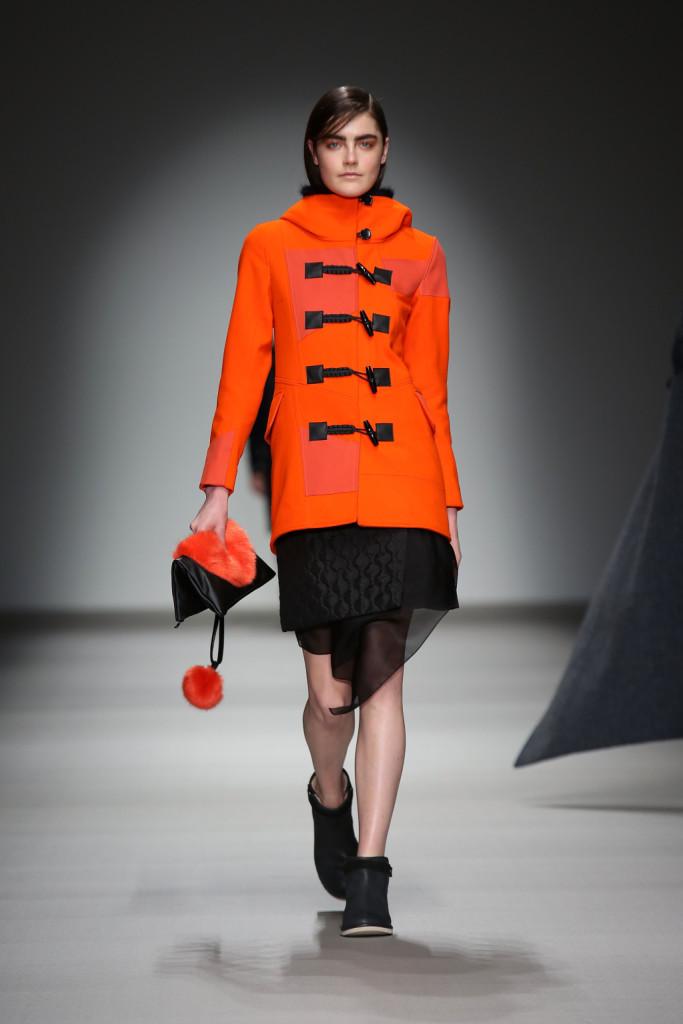 Arancio segnaletico per la moda di Christopher Raeburn