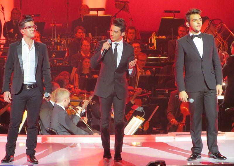 Il trio 'Il Volo', giunti al successo dopo la partecipazione a 'Ti lascio una canzone'