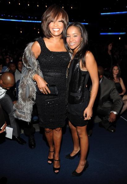 Bobbi Kristina Brown bambina con la madre Whitney