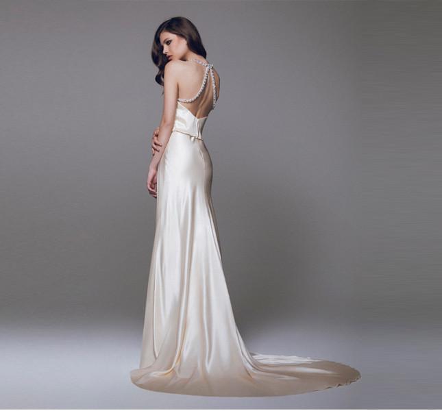 Collezione sposa Blumarine 2015. Proposta con schiena nuda. per vere temerarie!