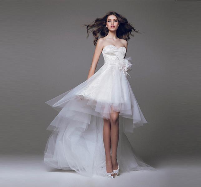 Un po' ballerina, un po' fatina. Abito Blumarine 2015 bridal.