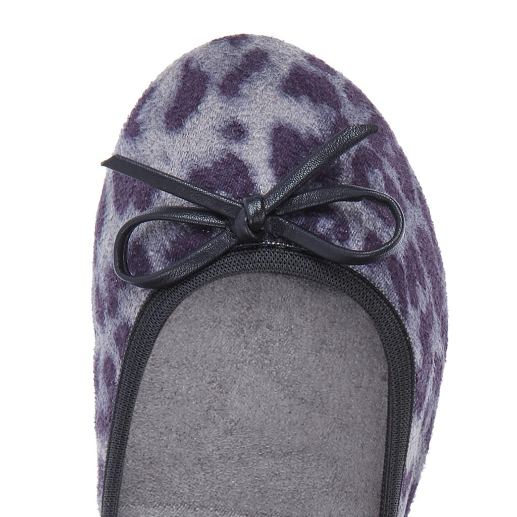 Ballerine Butterfly Twist Linea Cleo, fantasia Grey Leopard