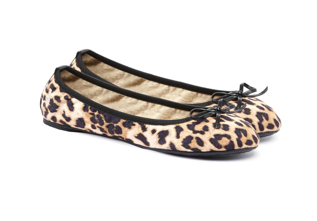 Ballerine Butterfly Twists linea Cleo, fantasia Tan Leopard