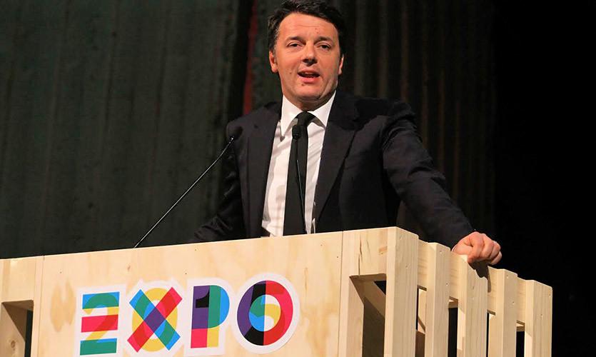 L'interventi di Matteo Renzi