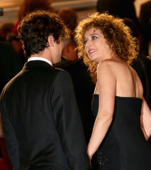 Alla premiere di Miele, Cannes 2014