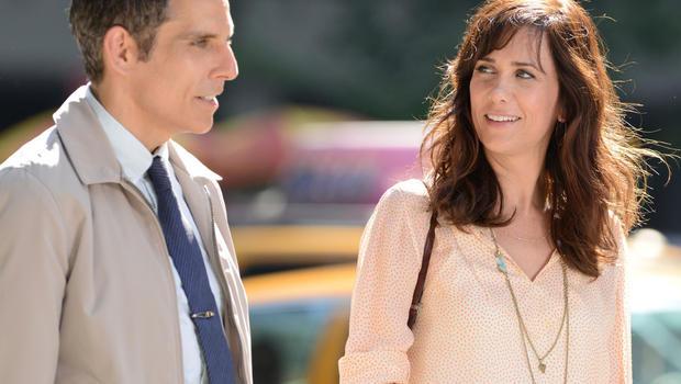 Kristen Wiig con Bel Stiller ne I sogni segreti di Walter Mitty