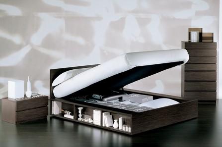 Letti Contenitore Design : Letto contenitore praticità e design unadonna