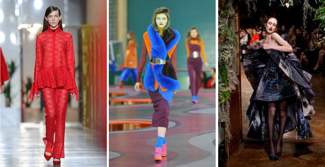Il quarto giorno della London Fashion Week FW 2015-2016 è un viaggio nel tempo, dal passato al futuro