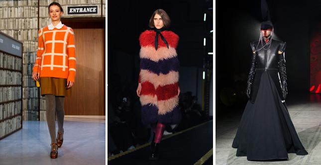 Il secondo giorno della London Fashion Week FW 2015/2016 muove dallo stile Seventies bon ton di Orla Kiely per arrivare a quello dark warriors di Gareth Pugh
