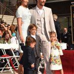 Matthew McConaughey a Hollywood con Camila Alves