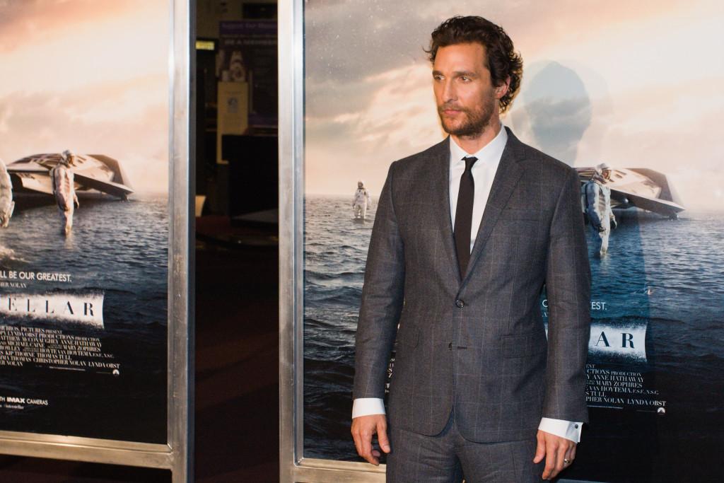 Matthew McConaughey alla Premiere di Interstellar a New York