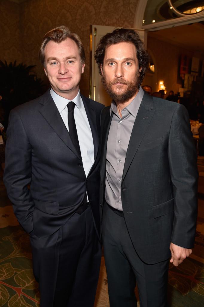 Matthew McConaughey e Christopher Nolan