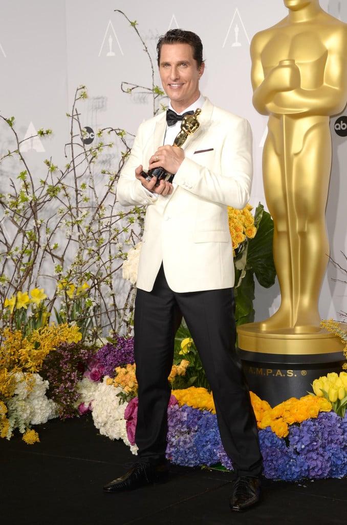 Matthew McConaughey agli Oscar 2014