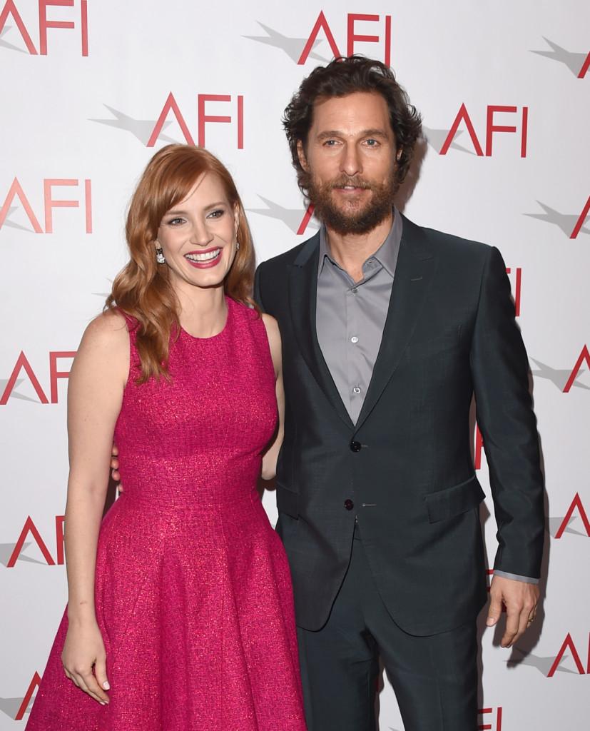 Matthew McConaughey e sul red carpet agli AFI Awards