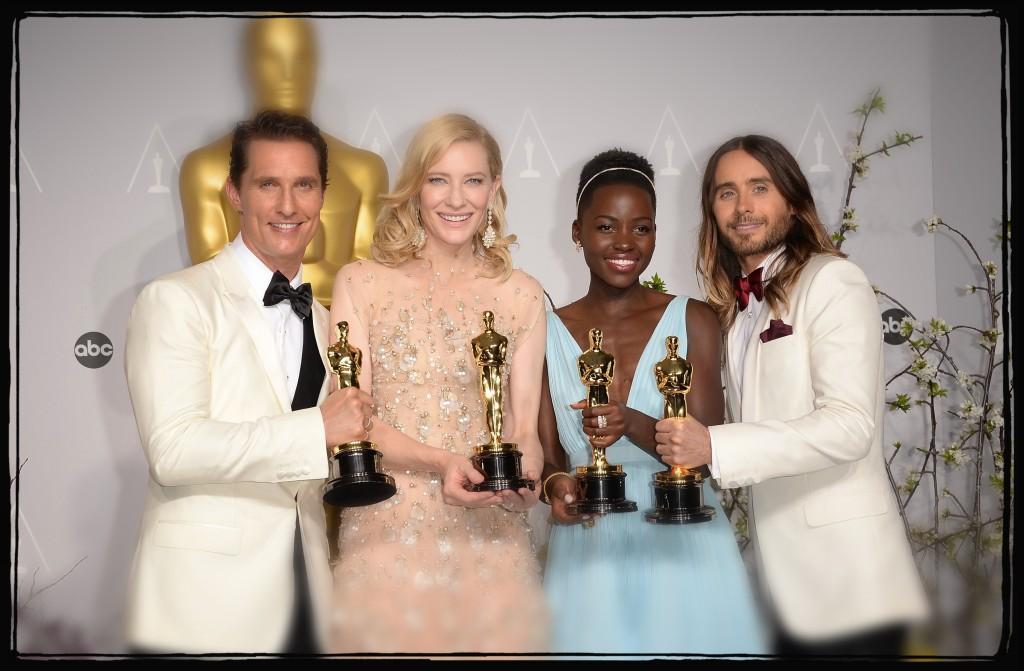 Matthew McConaughey agli Oscars 2014