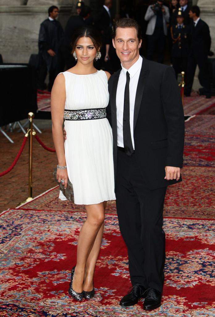 Matthew McConaughey sul red carpet di Dolce & Gabbana