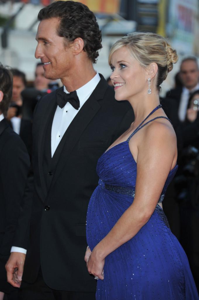 Matthew McConaughey e Reese Witherspoon alla premiere di Mud durante il 65esimo Festival di Cannes nel 2012