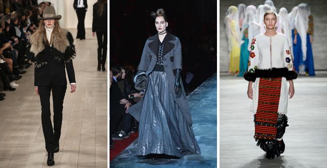 La NY Fashion Week FW 2015/2016 si è chiusa con un omaggio al passato e alle tradizioni, dell'America e non solo