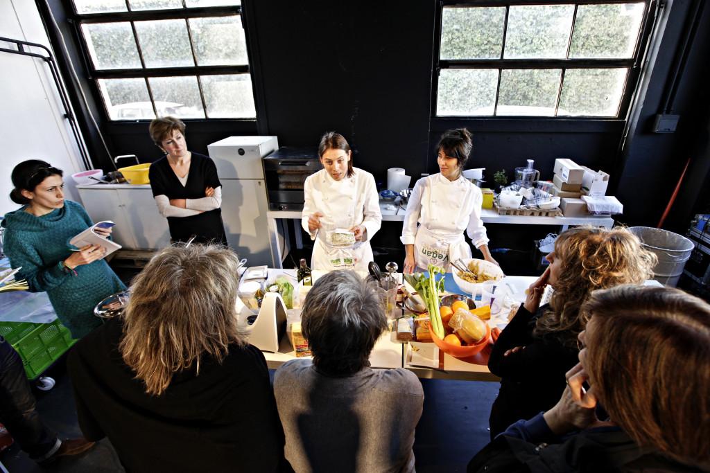 Dimostrazioni e lezioni di cucina sana durante Olisfestival