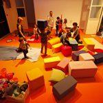 Lo spazio bimbi permetterà ai genitori di curiosare e gustarsi il festival in tranquillità