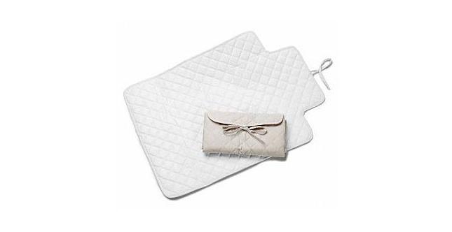 Prenatal fasciatoio 'portatile' in moribido cotone piquet www.prenatal.it