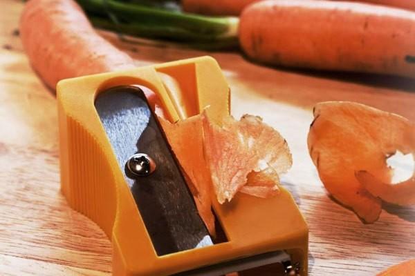 Temperino per pelare le carote