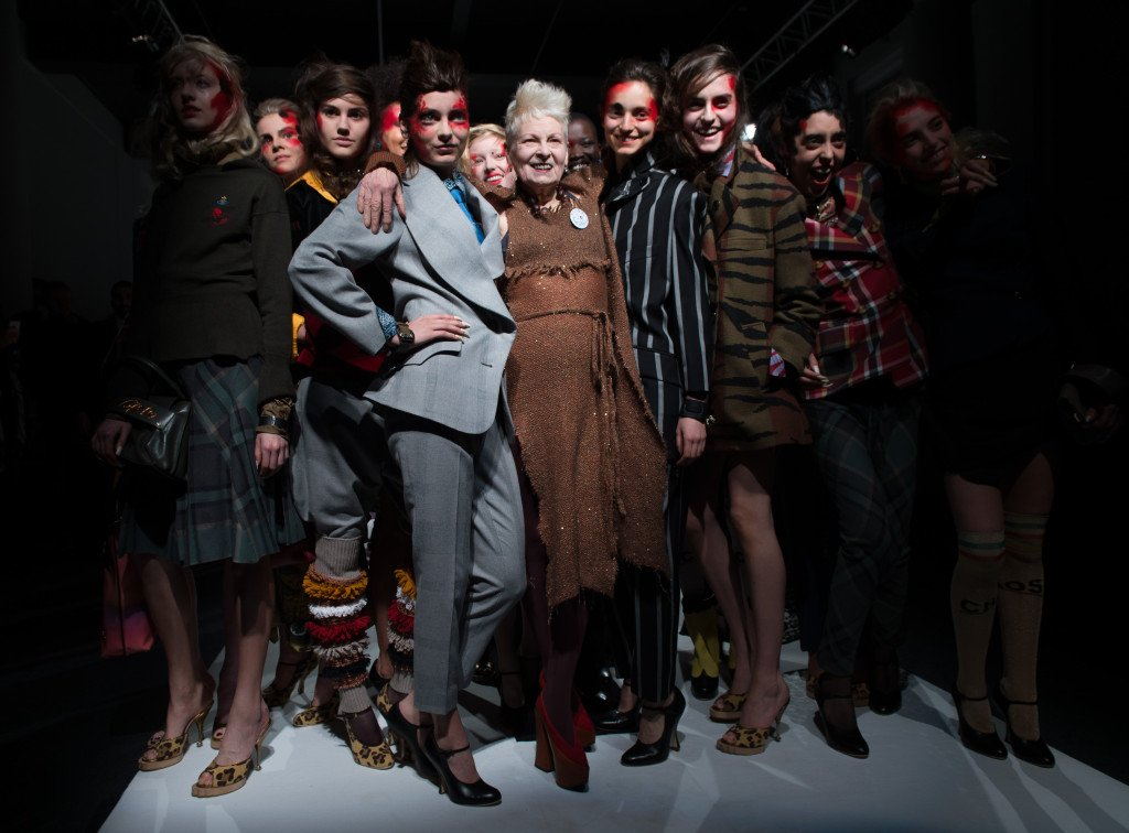 Vivienne Westwood  rivendica il ruolo cruciale della cultura e dell'arte