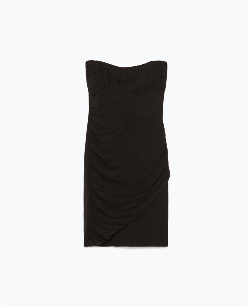 L'abito corsetto di Zara è ideale per copiare il look di Amy Adams