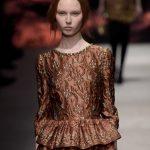 Alberta Ferretti abito motivi arazzo